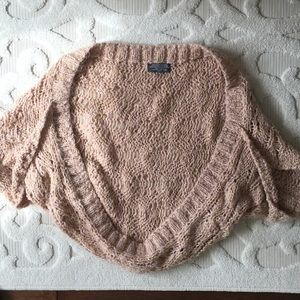 Sweaters - 2/$15🔥Pink and gold pastel bolero sweater size s